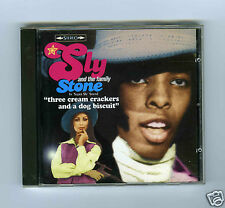 CD SLY & THE FAMILY STONE THREE CREAM CRACKERS AND A DOG BISCUIT