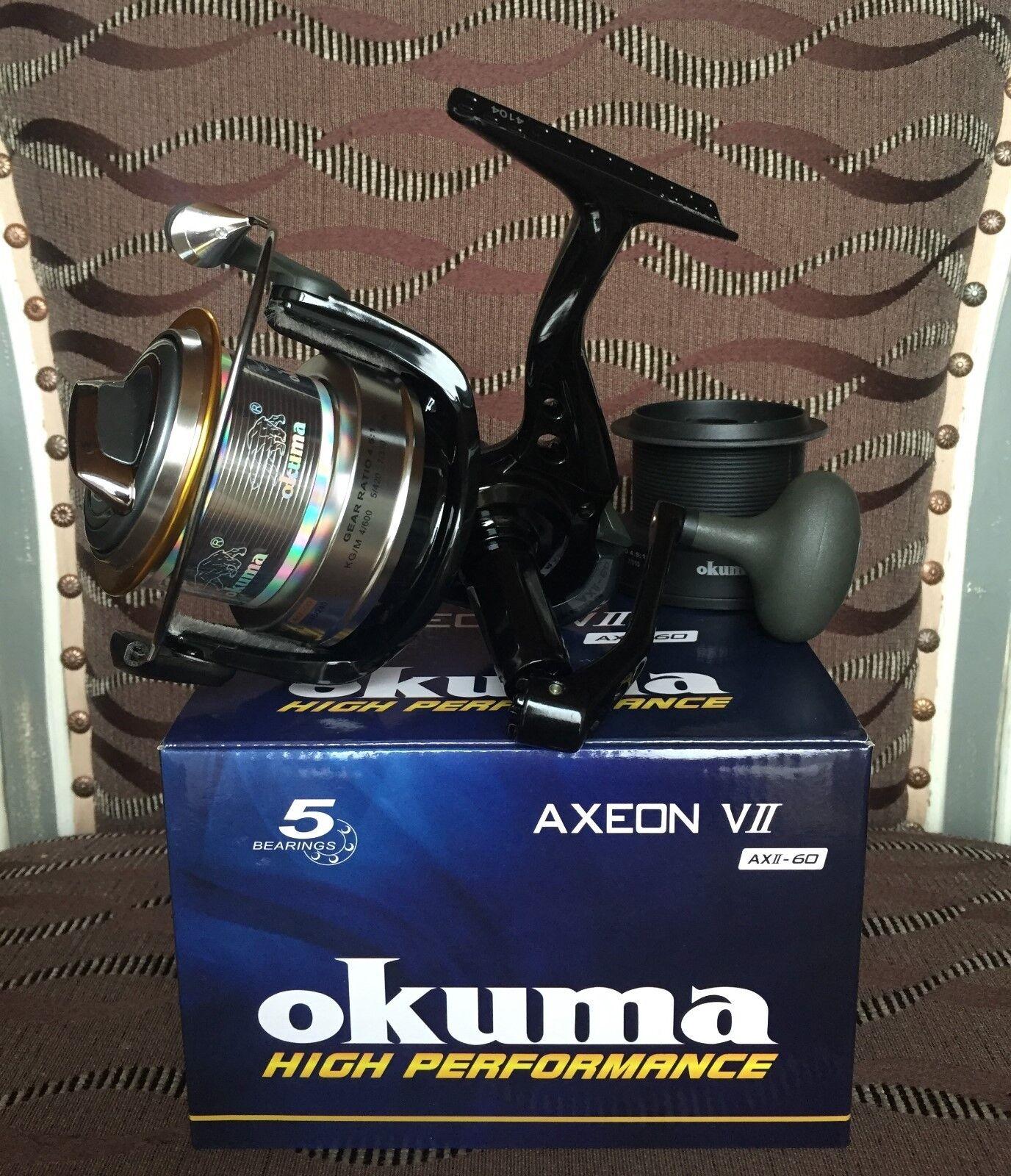 Okuma Axeon VII AXII-60 Karpfenrolle