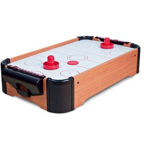 Mini Table Top Air Hockey Game Pushers Pucks Family Xmas Gift Arcade Toy Playset