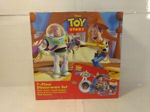 Disney-Pixar-Toy-Story-7-Piece-Dinnerware-Set-Zak-Designs-1995-t3398