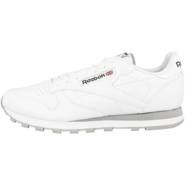 buy online 05251 cea7b Reebok Classic Leather Schuhe Leder Retro Sneaker Herren Klassiker Sport  Fitness
