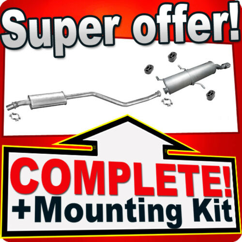 Peugeot 306 1.6 1.8 Cabrio Since 1994 Silencer Exhaust System L63 ...