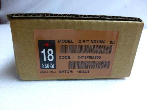 ND1020 8 ohm 34mm Original Factory Eighteen 18 Sound D-Kit