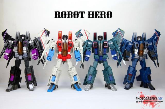 Trasformatori Robot Hero overDiessisione MP11 CG 01 02 03 04 cielowarp estrellascream cifra
