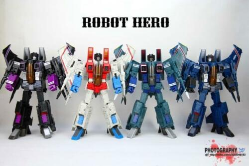 Transformers Robot Hero oversized MP11 CG 01/02/03/04 Skywarp Starscream figure