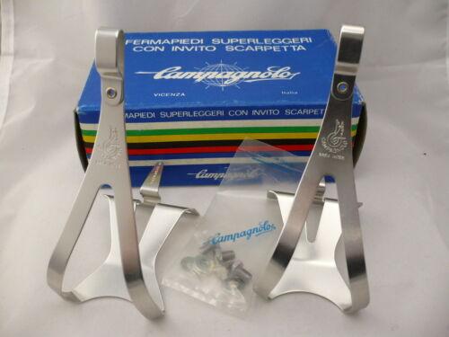 NOS Vintage 1980/'s Campagnolo Super Record Toe clip size Medium NIB skn48g