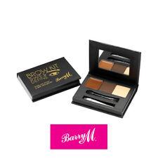 Barry M Brow Kit - Medium / Dark Eyebrow Make Up Powder, Brush, Wax & Tweezers
