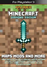 Great Condition Xploder Minecraft DIAMOND Edition [PS3, Mods Add-ons Maps]