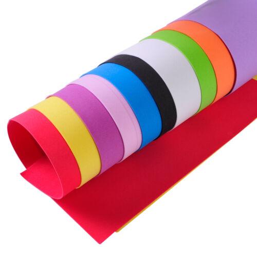 10PCS Schaum Blätter Papierblätter A4 Papier Basteln Farben Kinder DIY Foam