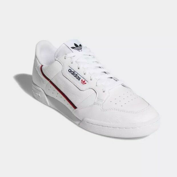 New Adidas Originals Continental 80 Unisex shoes Sneakers - White(B41674)