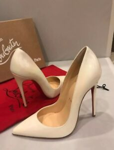 266c912015d Image is loading CHristian-Louboutin-SO-KATE -Opalescent-Patent-Stiletto-Heel-