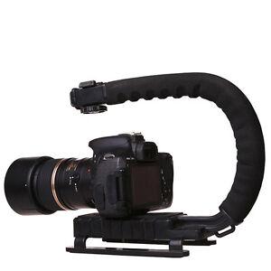 DSLR-Camera-C-U-Shape-Bracket-Handle-Grip-Handheld-Stabilizer-Camcorder-Video