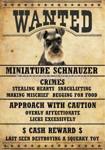 SCOTTISH TERRIER Wanted Poster FRIDGE MAGNET No 1 DOG