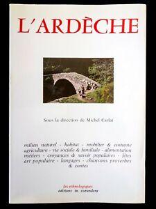 Architecture rurale en Vivarais - Michel Carlat - Librairie Guénégaud -1982