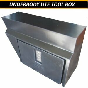 UTE-TOOL-BOX-UNDER-BODY-TRAY-LOCKABLE-UTE-TRADE-4X4-TOOLBOX-POLY-ACID-PROOF-NEW