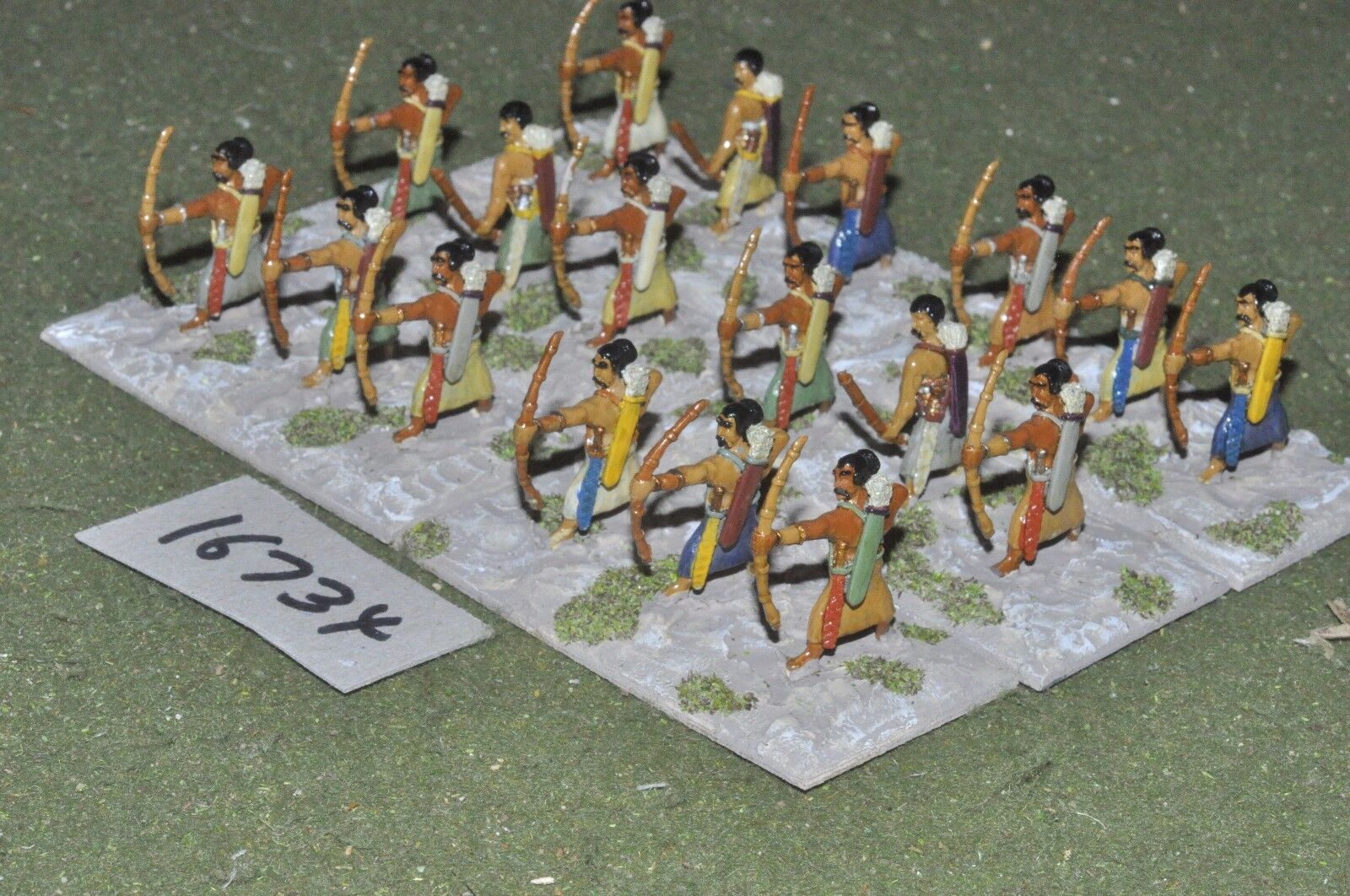 25mm classical   indian - archers 18 figs - inf (16734)