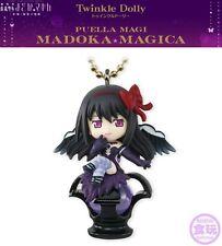 Bandai Twinkle Dolly Madoka Magica Charm Keychain Figure Devil Homura Dark Orb