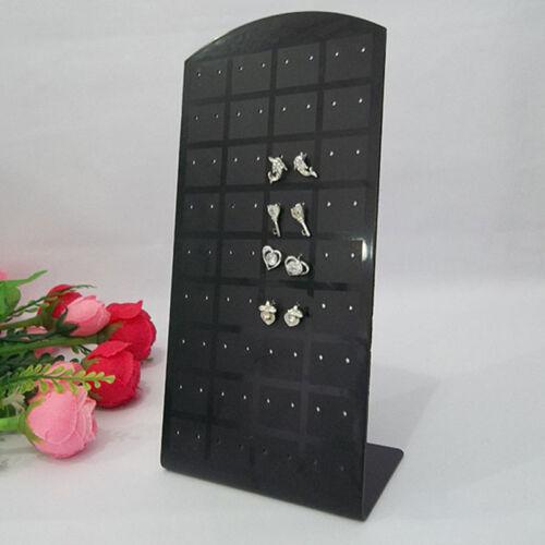 Ohrringhalter Ohrringständer Schmuck Display 72 Ohrstecker Kunststoff