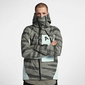 Acostumbrar radiador Alerta  Nike NikeLab ACG Alpine Jacket Dark Stucco Barely Green 924075-004 ...