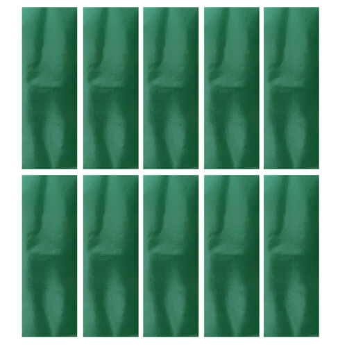 Pack 10x Awning Tent Green Canvas Waterproof Adhesive Repair Tape Patches