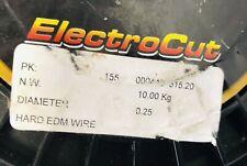 Electrodes Inc 01025mm Hard Edm Wire