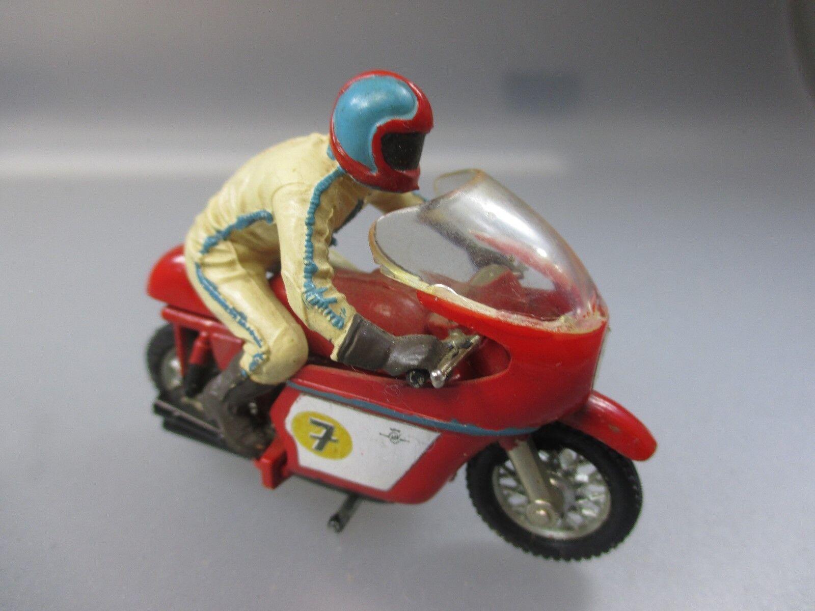 MATTEL rrrumblers O. Britains: MOTO/Motorcycle/Motorbike, vintage legno  8