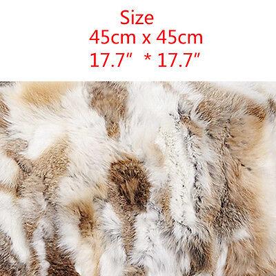 Farm Decor Rabbit Fur Throw Pillow Case Sofa Waist Popular Come Cushion Cover