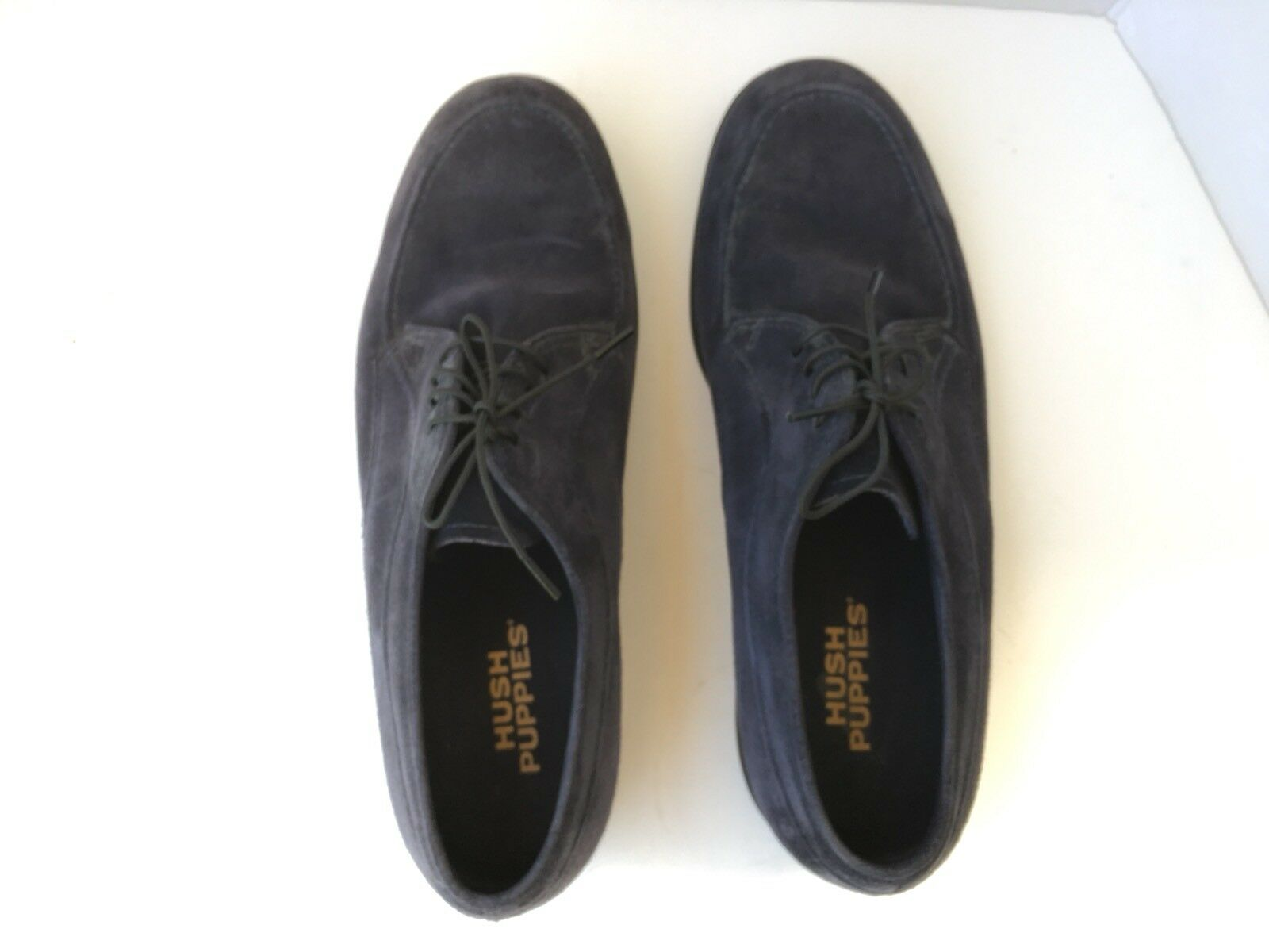 Hush Puppies Mens Lace Up shoes 10.5 M  bluee Suede Oxford