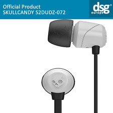 S2DUDZ-072 GENUINE SKULLCANDY JIB HEADPHONE IN-EAR EARPHONES BLACK/WHITE
