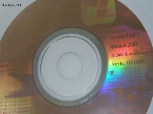 MICROSOFT WINDOWS XP PROFESSIONAL w//SP3 FULL OPERATING SYSTEM MS WIN PRO =NEW=