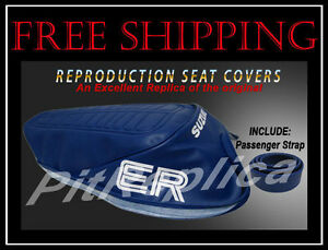 For 1979-2001 Honda Prelude Seat Cover 63342DP 1980 1981 1982 1983 1984 1985