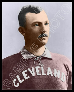 Cy-Young-Photo-8X10-Cleveland-Spiders-COLORIZED-Buy-Any-2-Get-1-Free