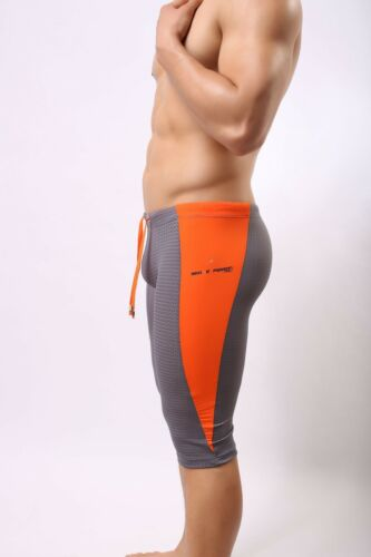 Men/'s Fitness Sports Boxers Gymnastics Fifth Pants Swim Trunks Athletic Apparel