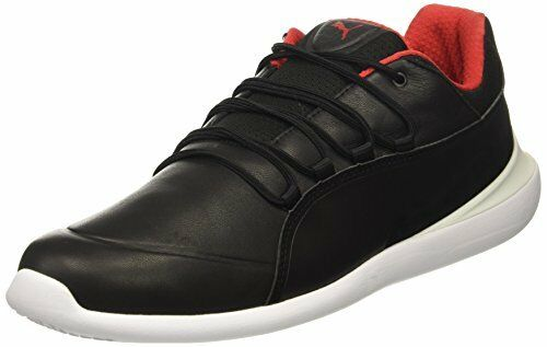 PUMA Mens SF Evo Cat Sneaker, Puma Black-Puma White, 12 M US