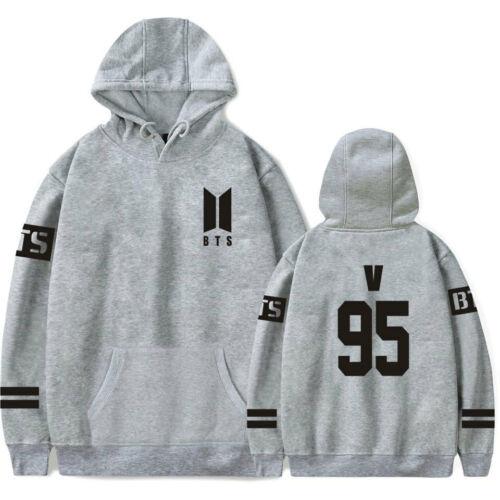 Kpop BTS Bangtan Boys Hoodie Sweater Casual Pullover JIN SUGA JHOPE V JUNG KOOK