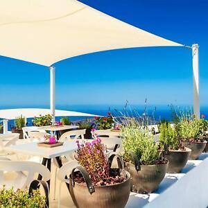 Vele ombreggianti QUADRATE tenda PARASOLE ombra giardino balcone terrazzo