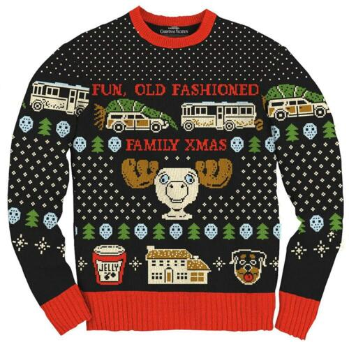 Adult Unix Christmas Vacation Fun Old Fashioned Family Xmas Ugly Sweater