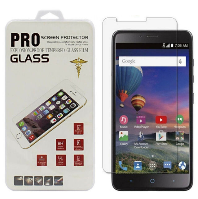 best service 950be 9a0f5 Premium Tempered Glass Screen Protector for ZTE Grand X Max 2 Kirk Z988  Cricket
