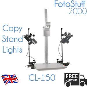 LED-Copy-Stand-Light-Pair-CL-150-For-use-with-most-Copy-Stands-Rostrums-CL-150