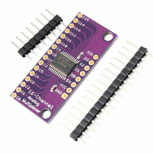 16-Channels Analog Digital MUX Breakout Board Multiplexer  With Pin CD74HC4067