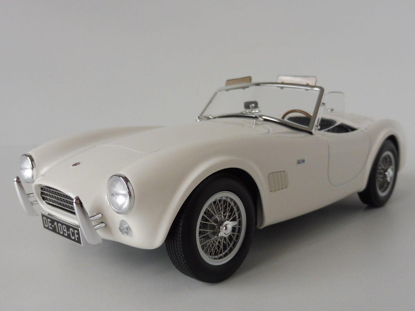 AC Cobra 289 1963 Bianco 1 18 Norev 182752 Mark II
