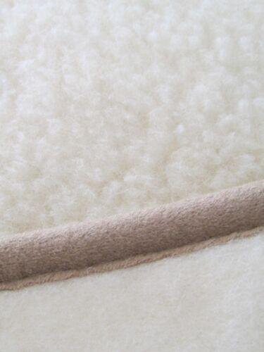 Wolldecke Tagesdecke Schurwolldecke Sofadecke Decke 100/% Merinowolle gelockt