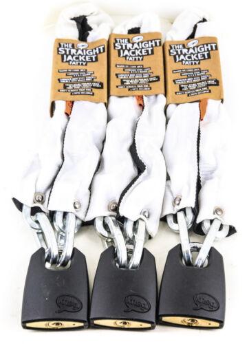 3 Quantity Knog The Straight Jacket Fatty 800mm Fat Chain Locks NEW
