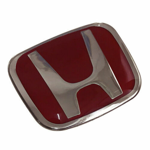 NEW Front Steeriing Red JDM Emblem For CIVIC 4DR SEDAN 2016 2020 Rear