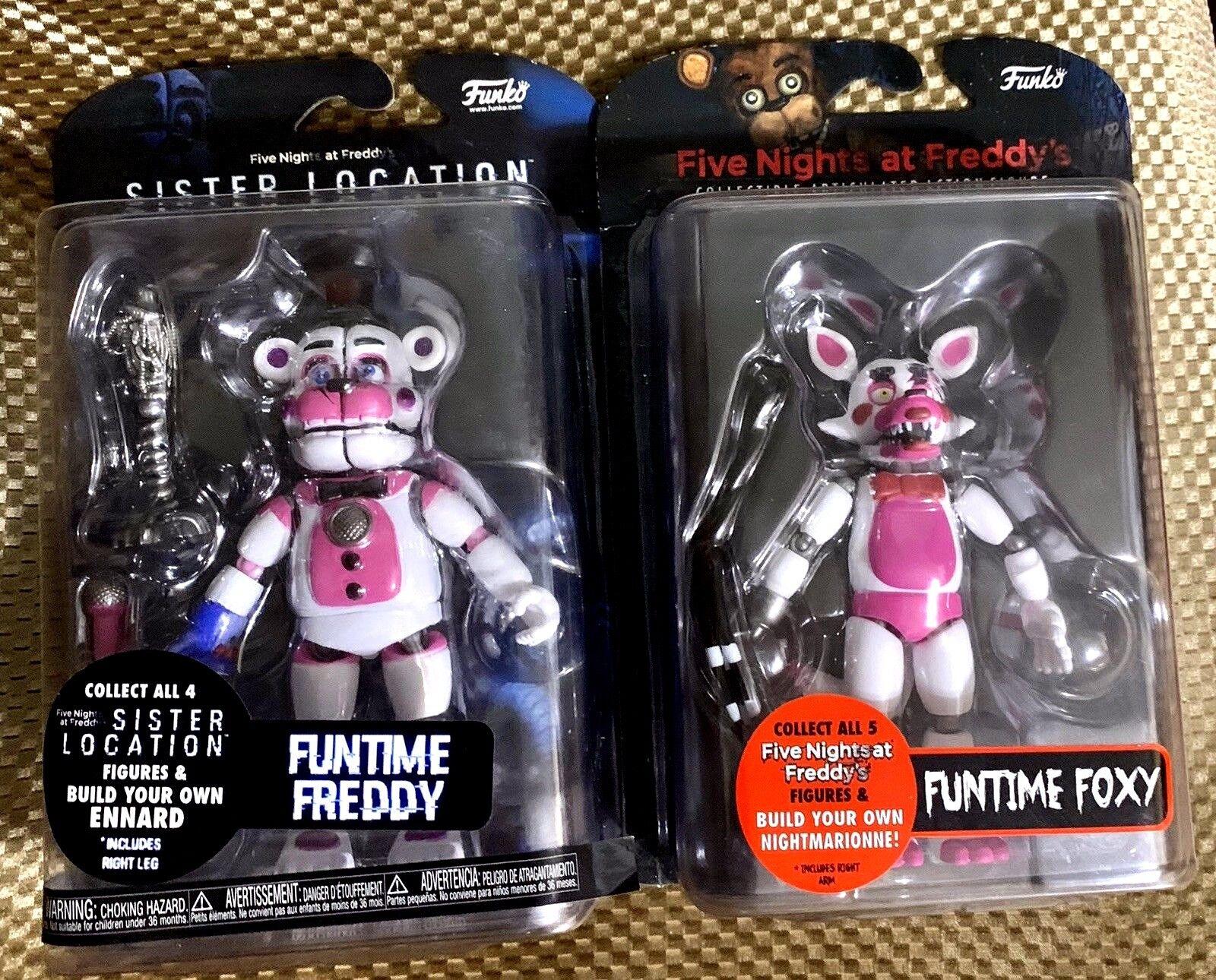 Funtime Foxy-Sorella posizione FrossoDY cinque NOTTI AT FrossoDYS Funko Action Figure