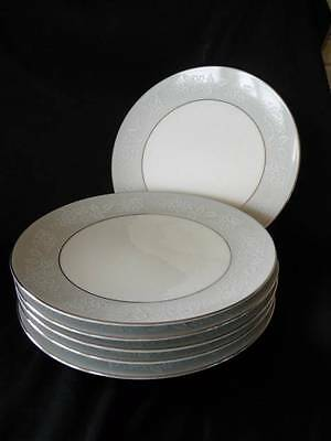 Noritake damask china collection on ebay noritake damask 6 x 23cm entree dinner plates fandeluxe Image collections