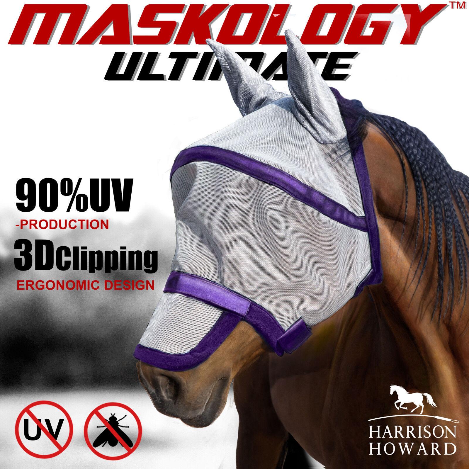 Harrison Howard caremaster Fly Masque Visage Complet Anti-UV envoi gratuit