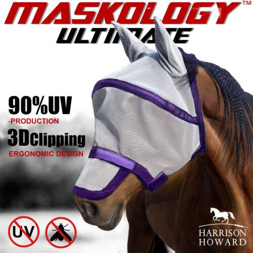 Harrison Howard CareMaster Fly Mask Full Face Anti-UV Free Postage