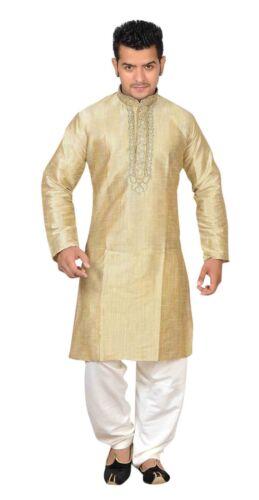 Men/'s Kurta Shalwar Kameez Pyjama Sherwani Bollywood Party Wear Theme EID 767