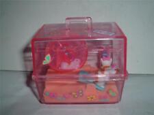 1995 Barbie Magic Moves Hamster Jaula 65012-93 utilizado con'd por favor C Las Fotos